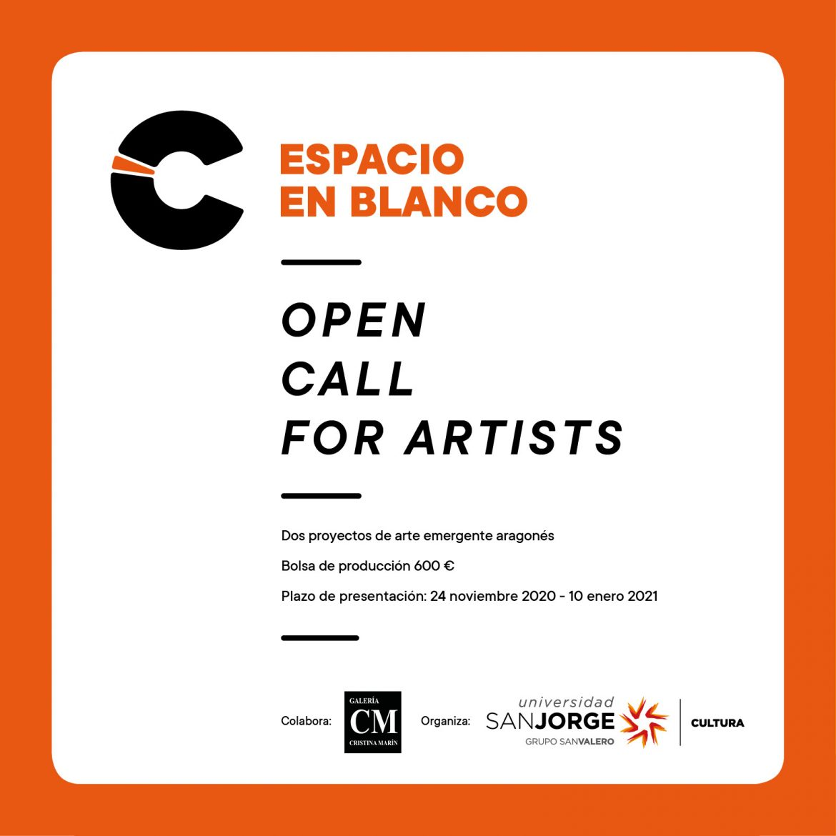 Call for artists Espacio en blanco